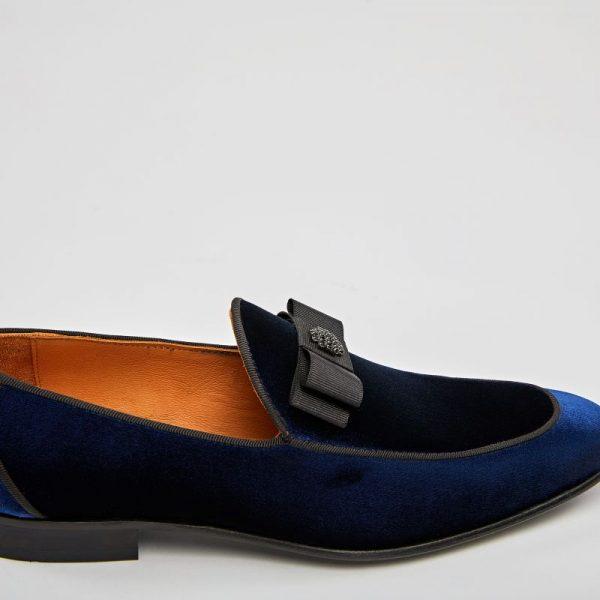 Pantofi loafers bleumarin