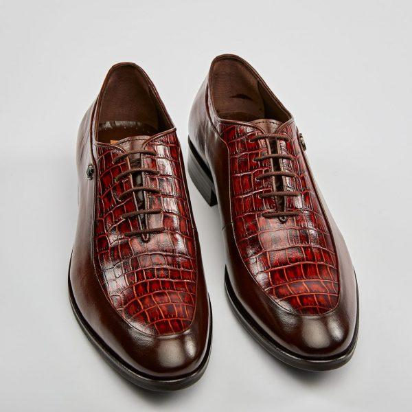 Pantofi oxford maro