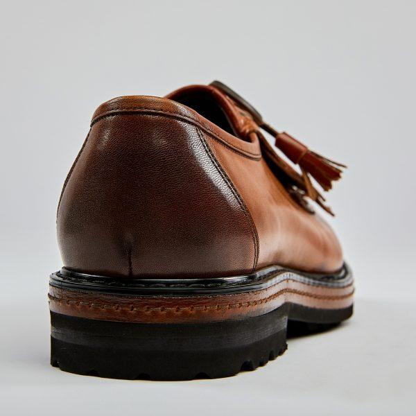 Pantofi loafers maro