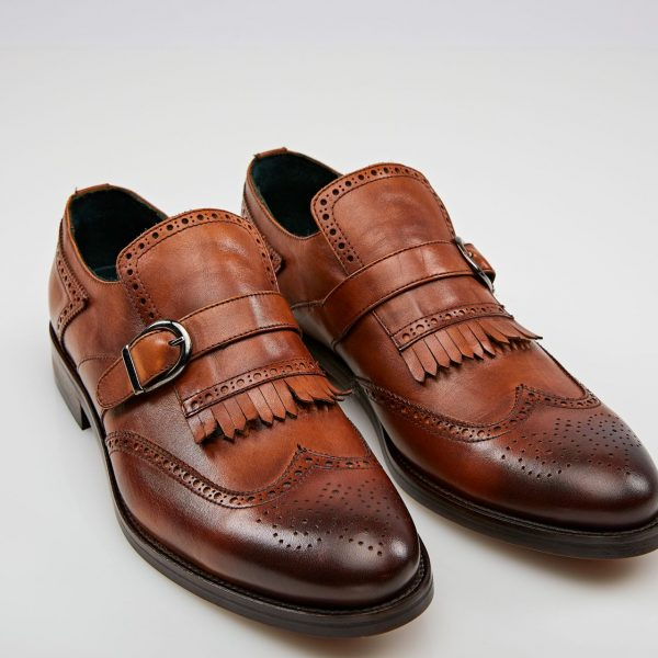 Pantofi Casual loafers maro
