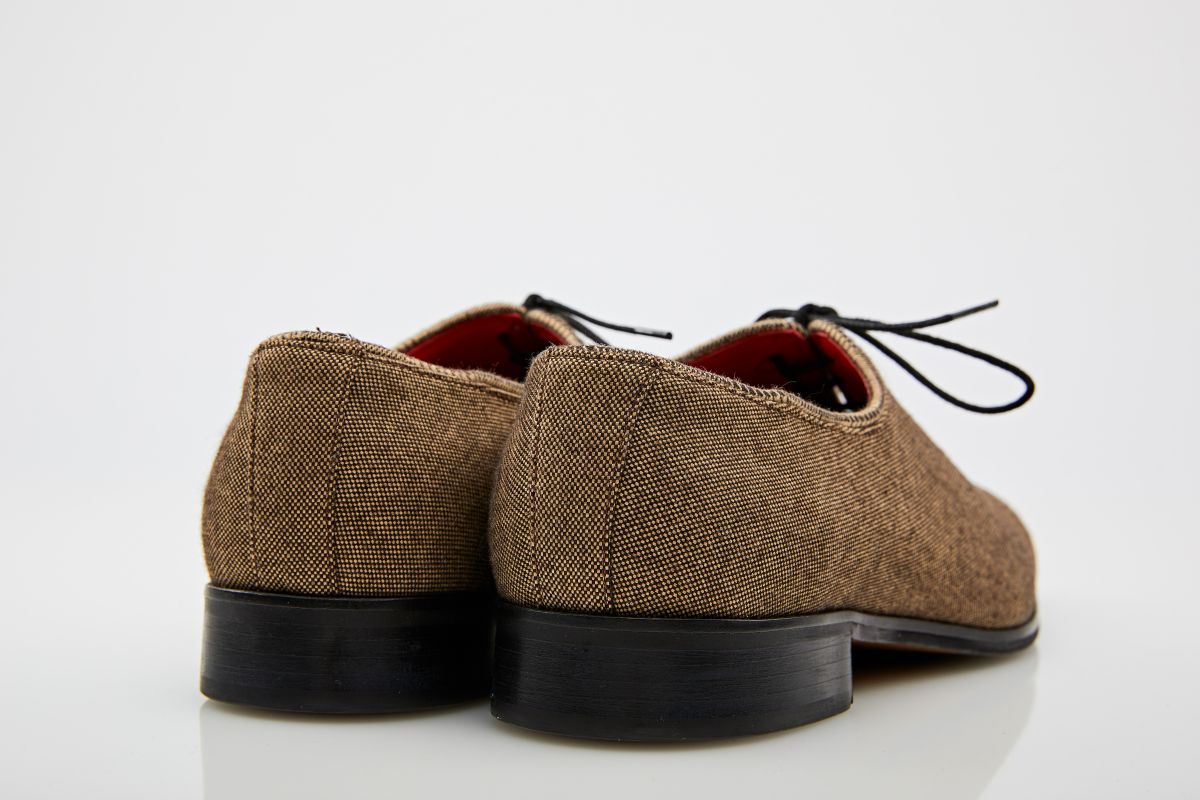 Pantofi oxford crem