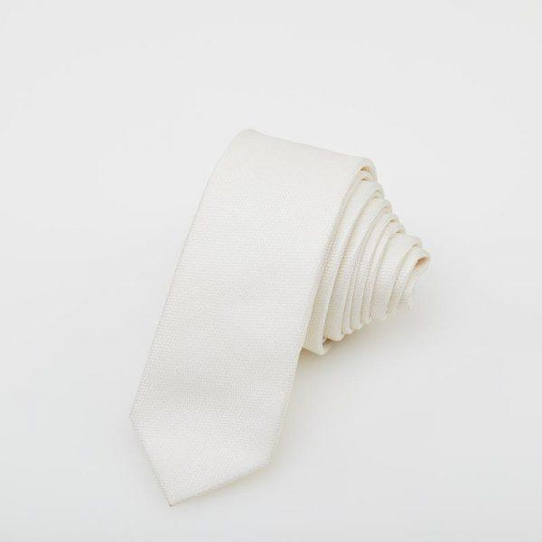 Cravată albă