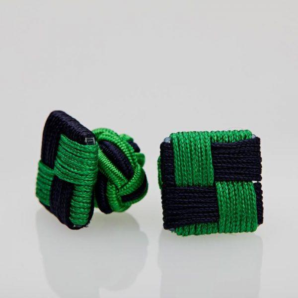 Butoni culoare verde - bleumarin