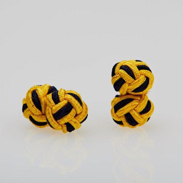 Butoni culoare galben - bleumarin