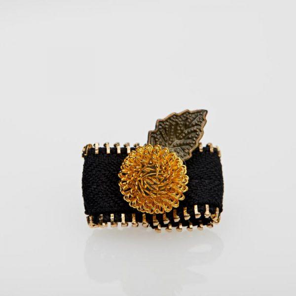 Accesoriu Casual pentru Rever Handmade de culoare Neagră
