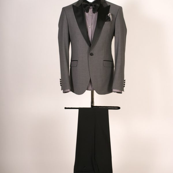 Dark Gray Dinner Jacket
