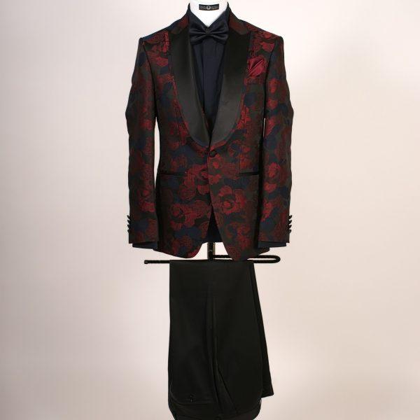 Jacard Dinner Suit