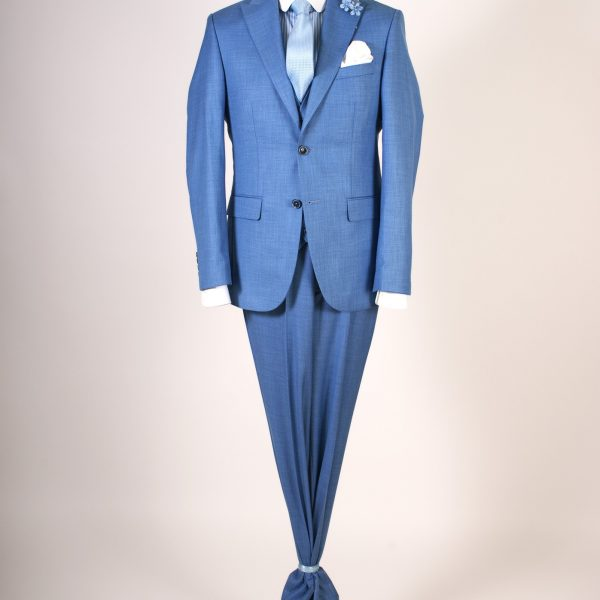 Blue Suit Three Pieces