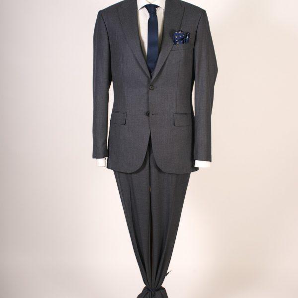 Dark Gray Suit Three Pieces