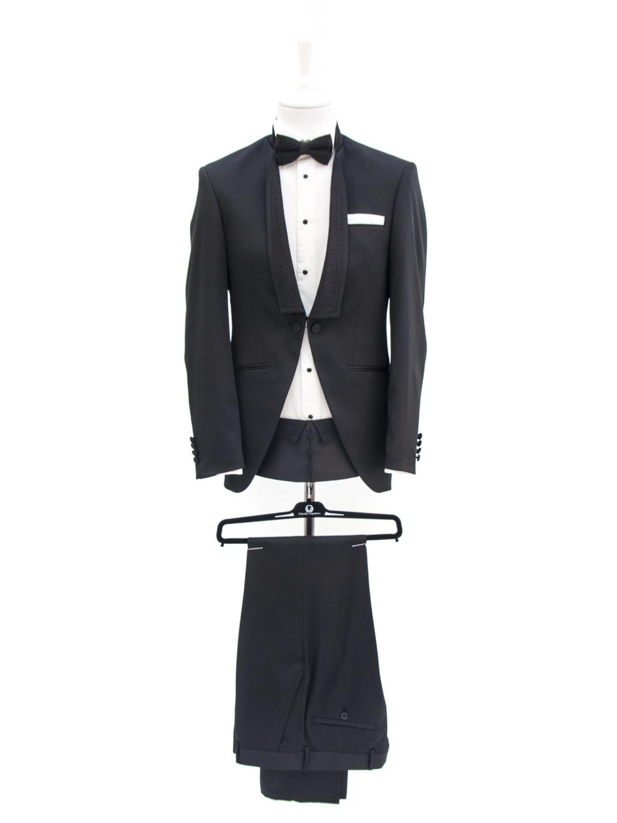 Bespoke Ceremony - Creative Black Suit Reinterpretat