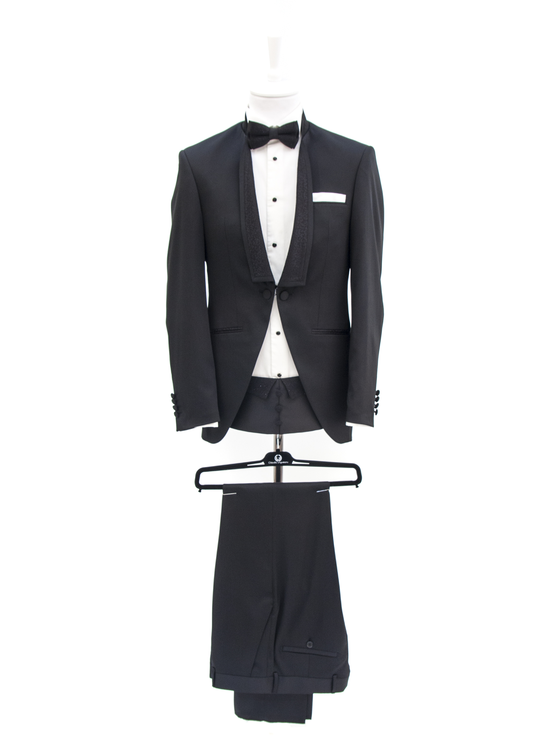 Bespoke Ceremony - Creative Black Suit Reinterpretat