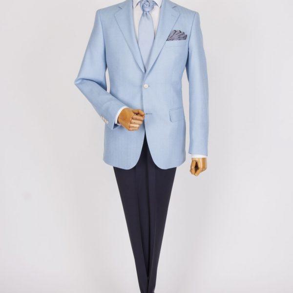 Sacou Casual/Business Uni Bleu