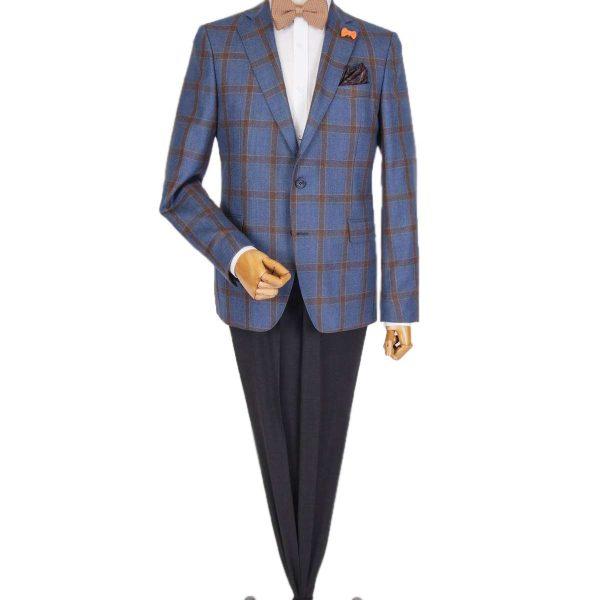 Bespoke/MTM Casual - Costum Clasic în Carouri