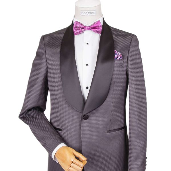 Bespoke/MTM - Dark Gray Dinner Jacket