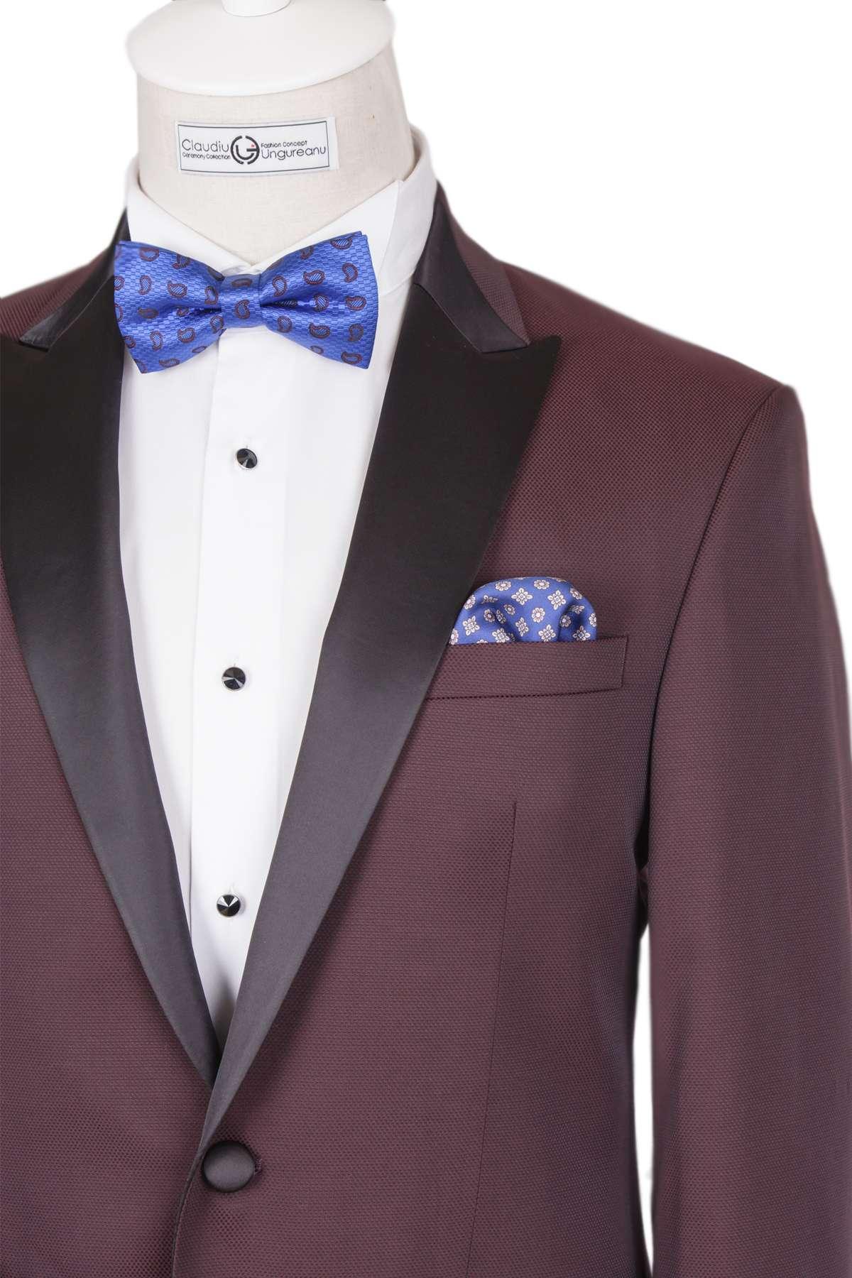 Bespoke Ceremony - Dark Burgundia Dinner Jacket