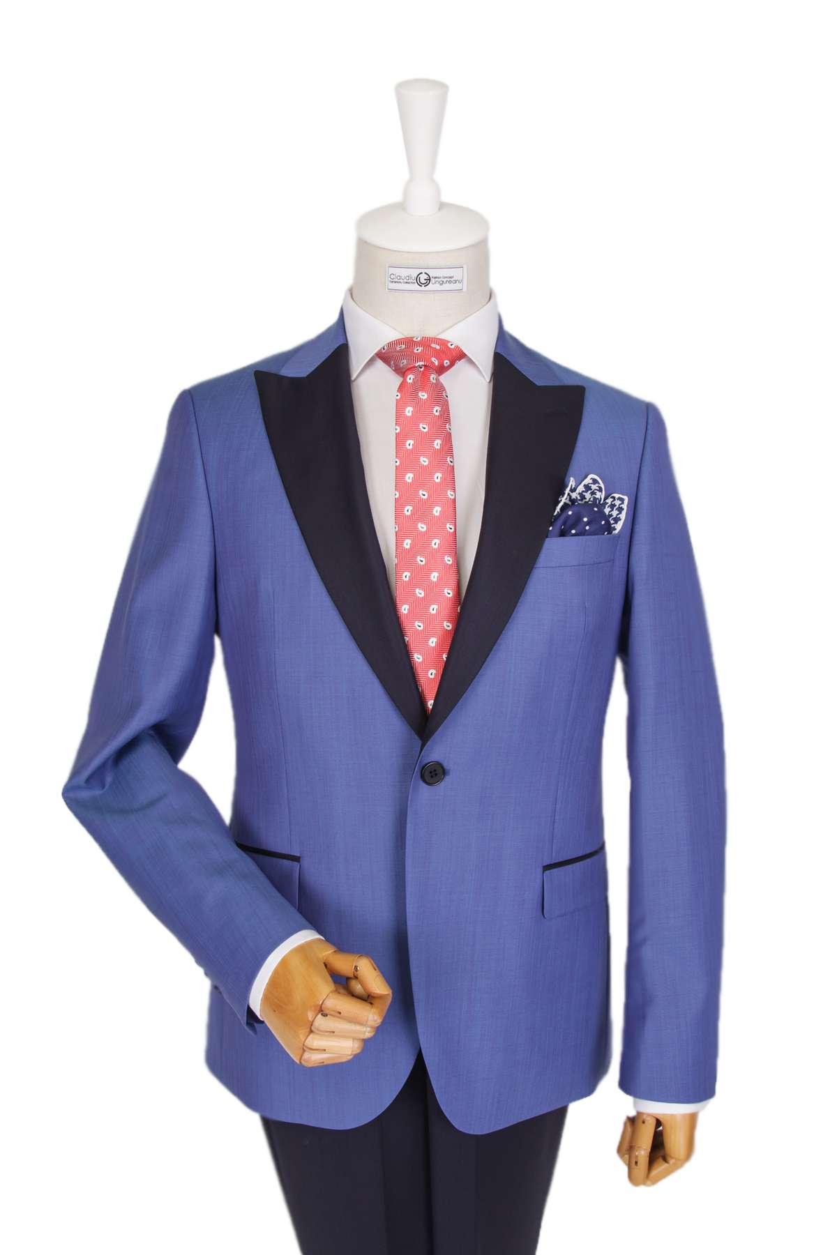 Ceremony Bespoke Blue Dinner Jacket