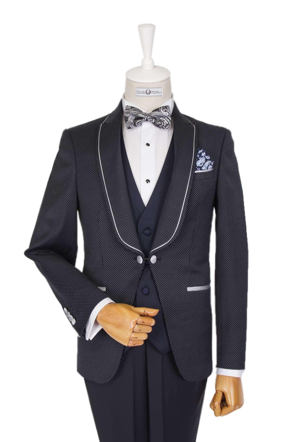 Bespoke Classic Suit - Dark Gray Reinterpretat