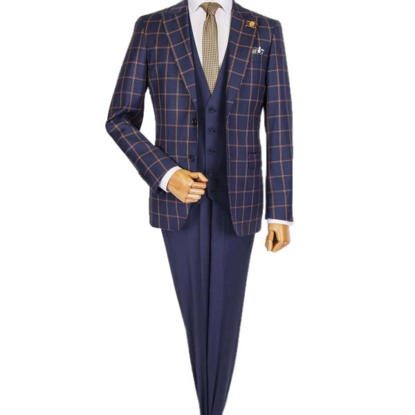 Bespoke Casual Suit - Carouri Navy Blue
