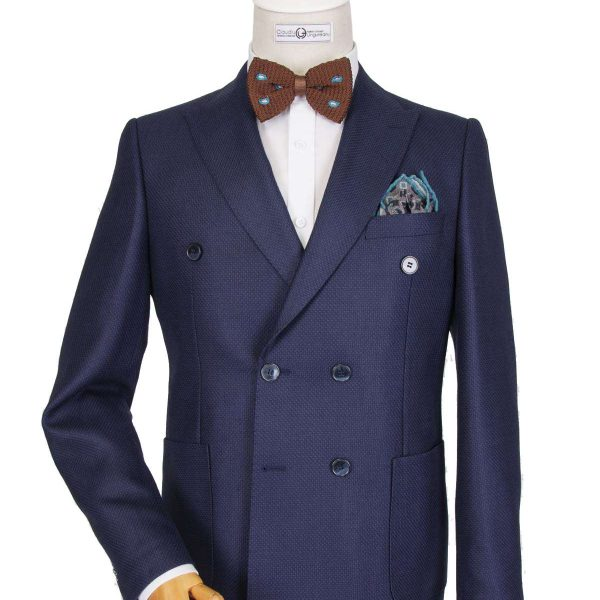Bespoke/MTM Business - Navy Blue Double Breasted