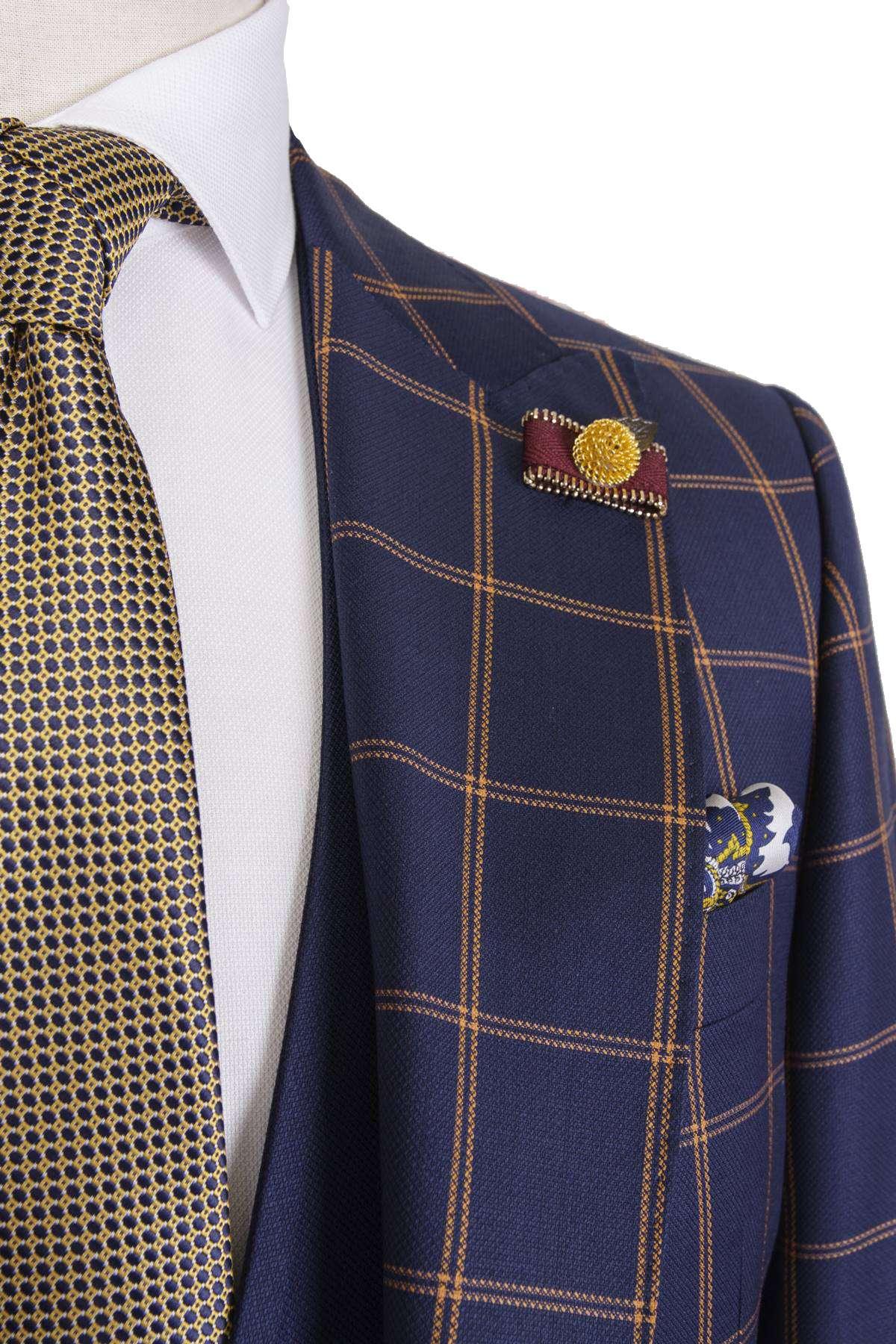 Bespoke Casual Suit - Carouri Navy Blue