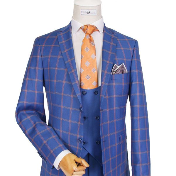 Bespoke/MTM Business - Blue Suit