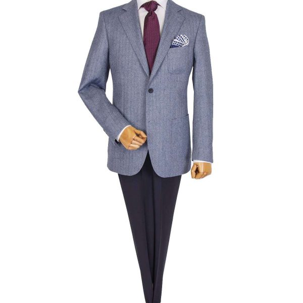 Bespoke/MTM Casual - Gray Classic Suit