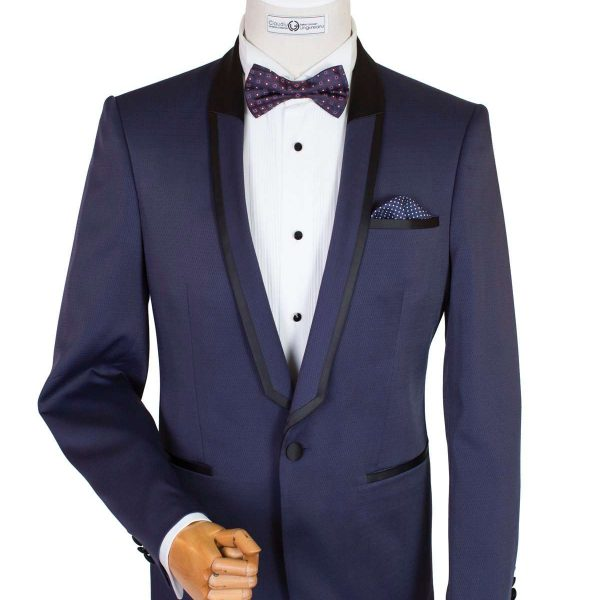 Bespoke/MTM - Navy Blue Smoking Reinterpretat