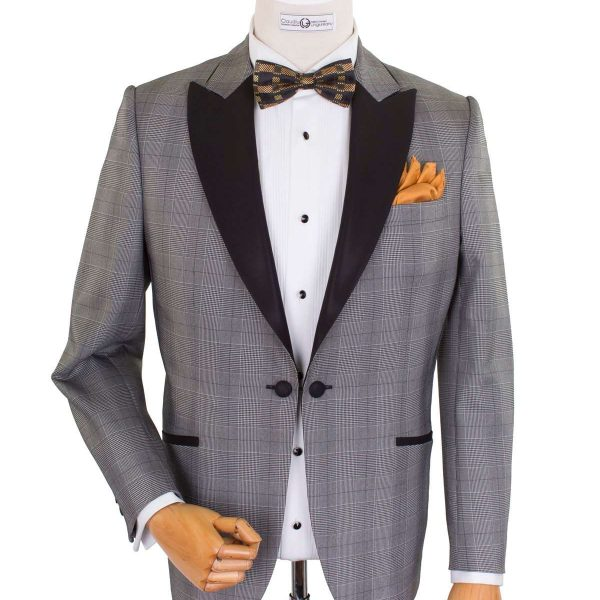 Bespoke/MTM Ceremony - Gray Dinner Jacket