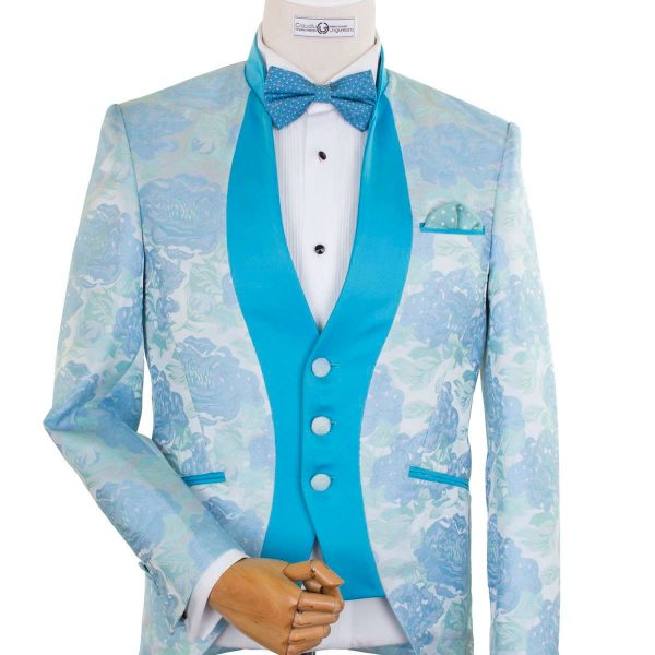 Bespoke Ceremony - Dinner Jacket Bleu Reinterpretat
