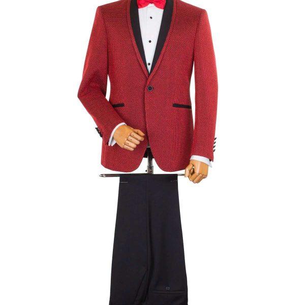 Bespoke Ceremony - Red Dinner Jacket Reinterpretat